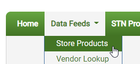 store products menu